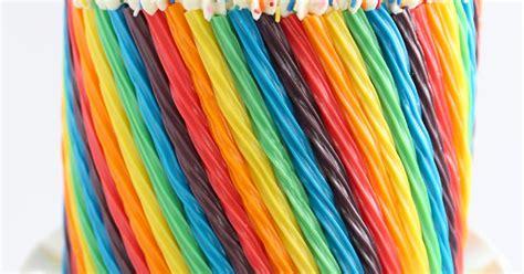 rainbow candy cake sprinkle bakes