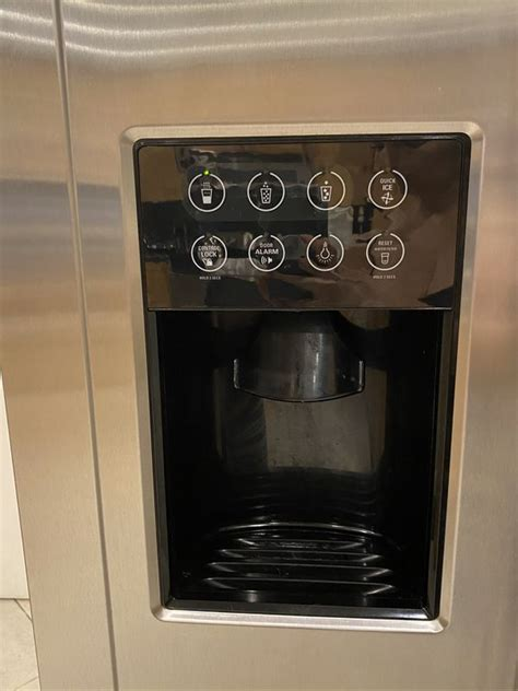 ge monogram freestanding side  side  cubic feet refrigeratorread  listing