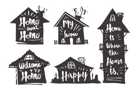 Home Sweet Home Illustrations, Royalty-Free Vector ...