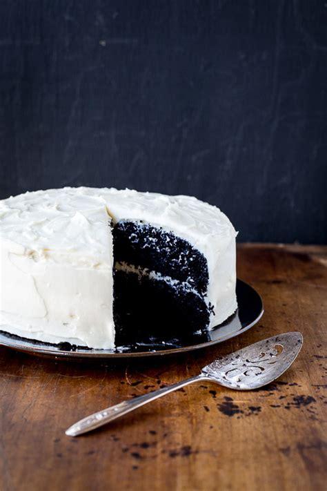 chocolate cake  cream cheese frosting merry gourmet