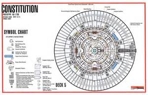 deck 5 schematic from tos u s s enterprise ncc 1701 trek u s s enterprise ncc 1701