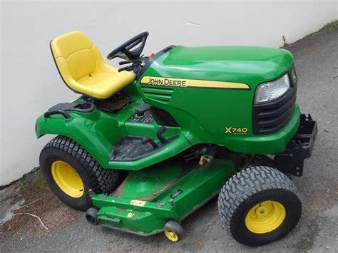 diesel lawn tractor used deere x740 diesel garden tractor 3322