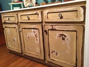 Distressed, Cabinets