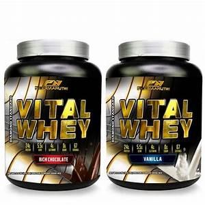 Vital Whey 2kg Isolate 24g Protein  Chocolate  Vanilla