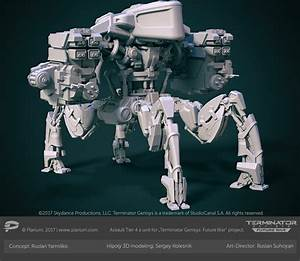 Sergey Kolesnik Skynet Assault Battle Unit Tier 4
