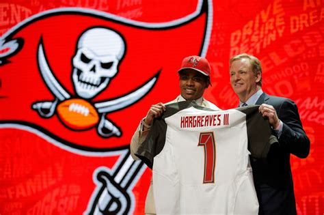 bucs select cb hargreave   pick  nfl draft la