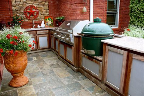 big green egg outdoor kitchen plans stainless steel grills for brick bbq pit design ideas 9262