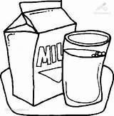 Milk Coloring Drinks Kb Viewed Colorear Para sketch template