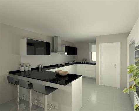 espresso kitchen cabinets modelo line e blanco encimera granito negro cocinas 6433