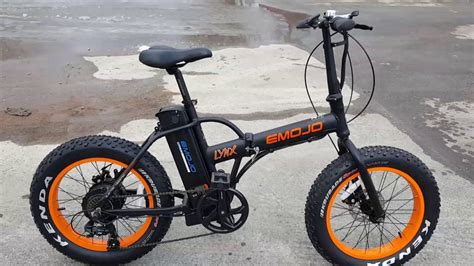 Fat Tire Folding Electric Bike Bicycle With Lithium