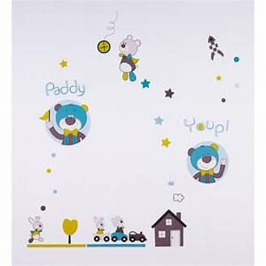 Sticker Chambre Bebe : stickers chambre b b paddy de sauthon baby deco sur allob b ~ Melissatoandfro.com Idées de Décoration