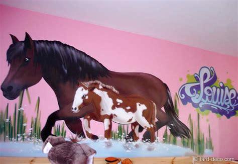 chambre cheval fille deco de chambre theme cheval