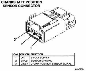 Camshaft Position Sensor Wiring Diagram