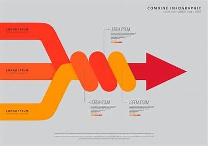 Infographic Combine Template Vector Graphics Edit Resources