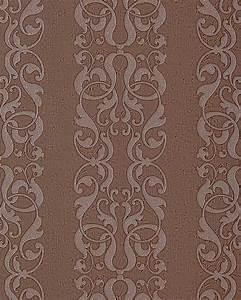 Ausgefallene Tapeten Muster : edem 829 26 barock streifen tapete damask muster schoko braun perlmutt 70 cm original edem ~ Sanjose-hotels-ca.com Haus und Dekorationen
