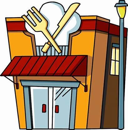 Restaurant Restaurants Clipart Scribblenauts Cliparts Station