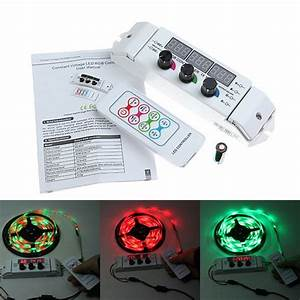 18a Rgb Manual Dimmer Stepless Adjustable Switch Led Strip