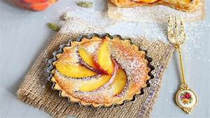 Peach and Cardamom Bakewell Tarts Recipes Food Network UK