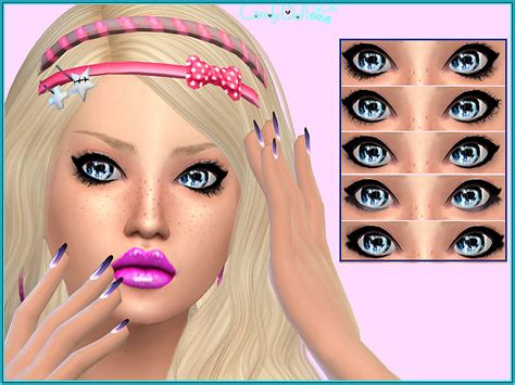 Candy Doll Star Lashes The Sims 4 Catalog
