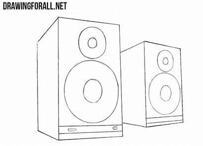 Draw Speakers Drawingforall Simple Everything Dear