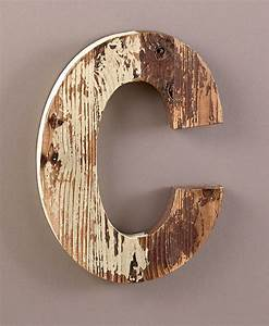 wooden rustic letter monogram distressed finish With finished wooden letters