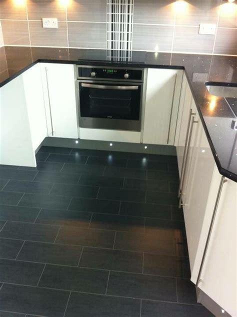 black gloss kitchen floor tiles black granite worktop grey and black tiles white gloss 7874