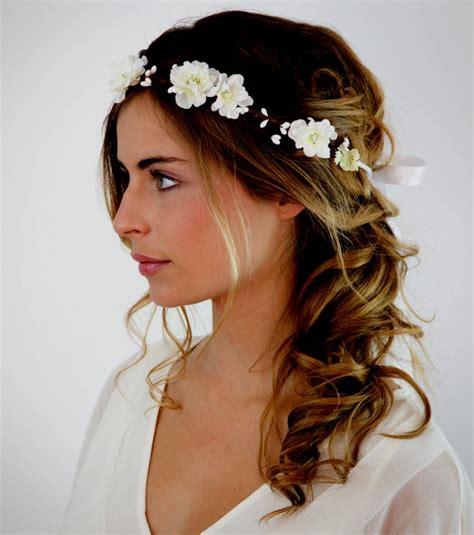 coiffure mariage a idee de tes cheveux mi photo