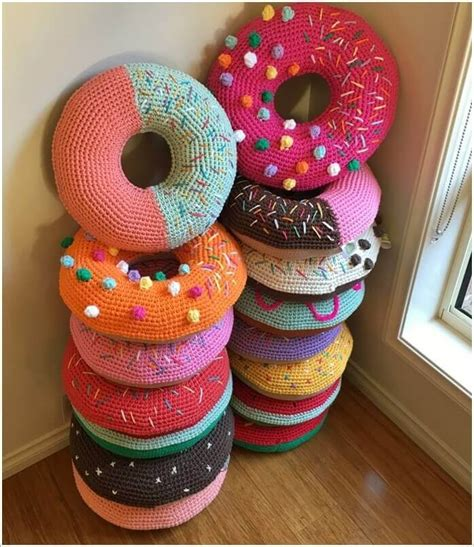 awesome diy donut craft project ideas happiness