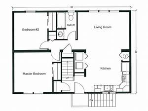 2 bedroom apartment floor plan 2 bedroom open floor plan With one bedroom apartment open floor plans