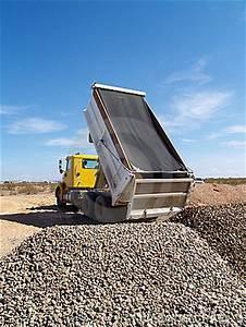 Truck Dumping Gravel Royalty Free Stock Image - Image: 6340836