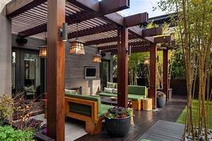 Terrasses En Vue : brise vue terrasse 25 id es sympas pour plus d intimit ~ Melissatoandfro.com Idées de Décoration
