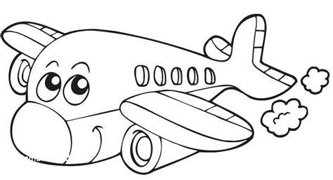 lihat gambar mewarnai pesawat terbang anak paud tk