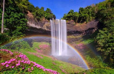 End Of Double Rainbow Is A Beautiful Waterfall World
