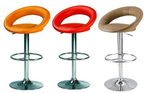 sieges de bar tabouret de bar reglable en hauteur simili cuir