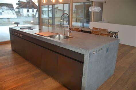 Küche Beton Arbeitsplatte by K 252 Che Betonarbeitsplatte Mit Betonarbeitsplatte