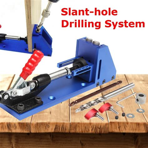 oblique pro pocket hole jig drill guide joinery