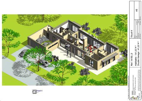 plan maison 3 chambres plain pied garage plan de maison plain pied moderne 28 images plan