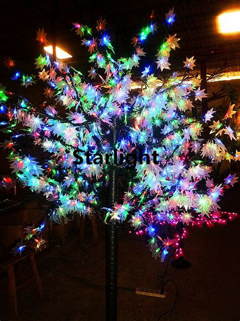 christmas tree without lights 5ft led maple tree light outdoor wedding tree