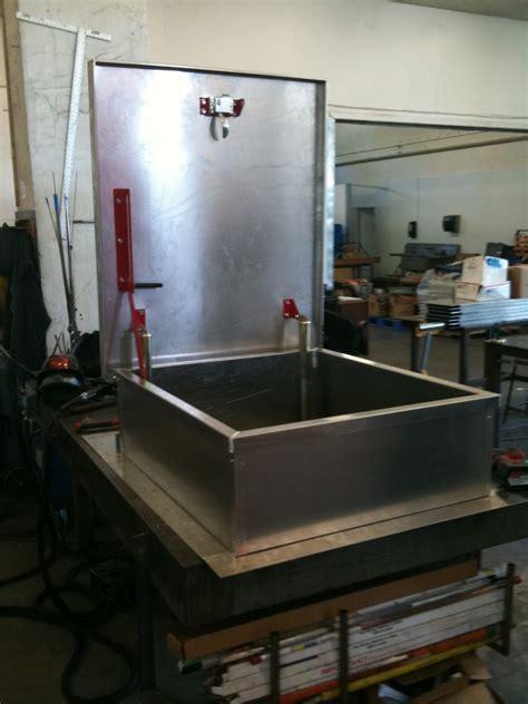 metal building roof equipment hatches custom curb