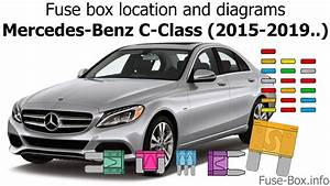 Fuse Box Location And Diagrams  Mercedes-benz C-class  2015-2019
