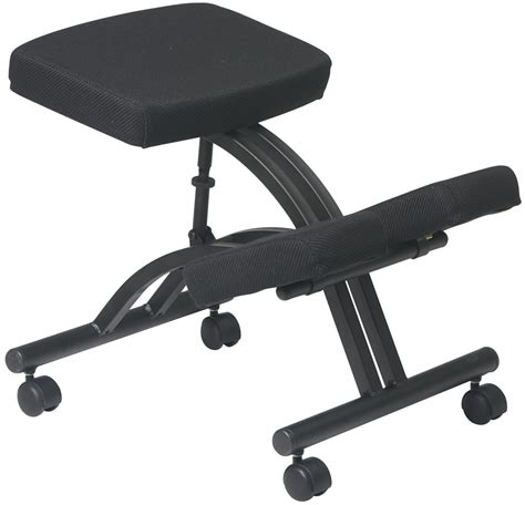 kcm1420 office ergonomic kneeling chair with dual