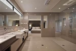chambre parentale des idees d39agencements blog With salle de bain parentale