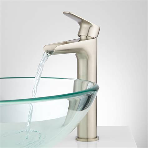 pagosa waterfall vessel faucet bathroom sink faucets