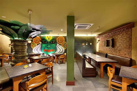 wall mural   major highlight  south indian restaurant