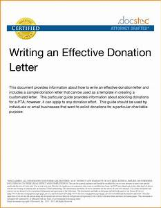 letter asking for donation for co worker just bcause With how to write a donation request letter template
