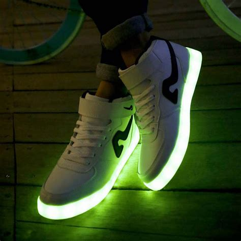 new light up shoes new light up for adults chaussure basket femme one