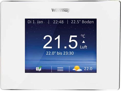 raumtemperaturregler  tipps fuer die bedienung warmup