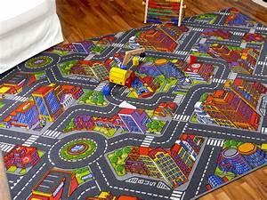 Teppich Für Kinder : kinder spiel teppich stra enteppich 3d big city grau in 24 ~ A.2002-acura-tl-radio.info Haus und Dekorationen