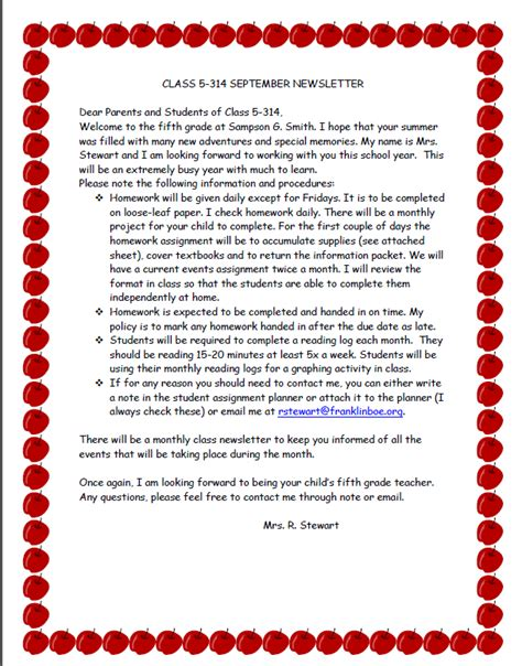 teacher welcome letter welcoming students before the day of school scholastic