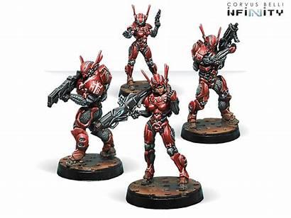 Mobile Brigada Infinity Fantasy Wargames Corvusbelli